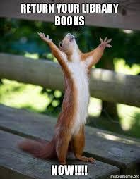 return books squirrel